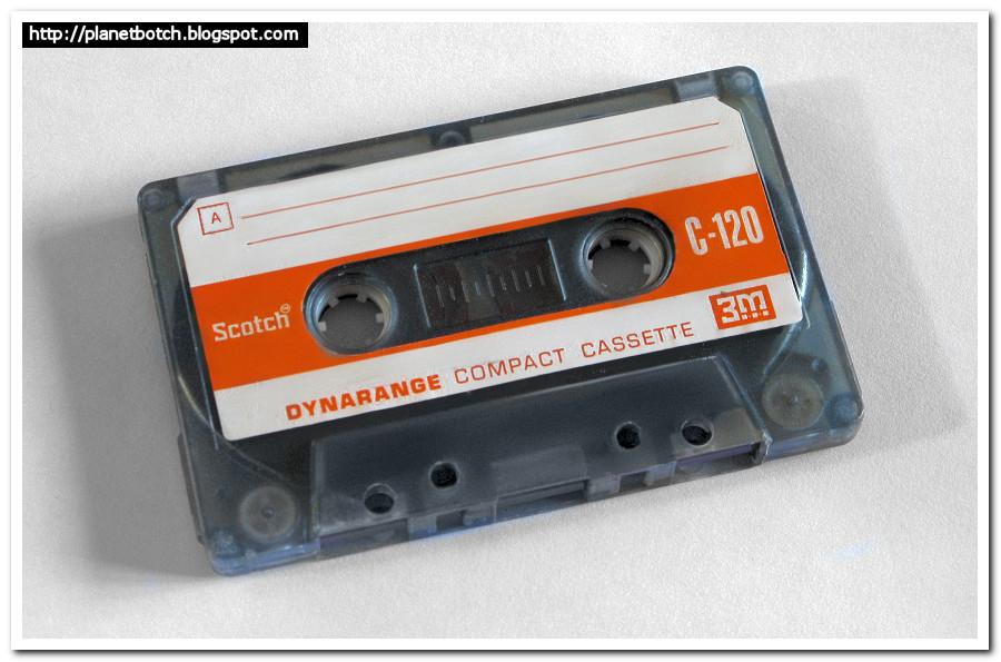 Scotch Dynarange C-120 audio cassette tape