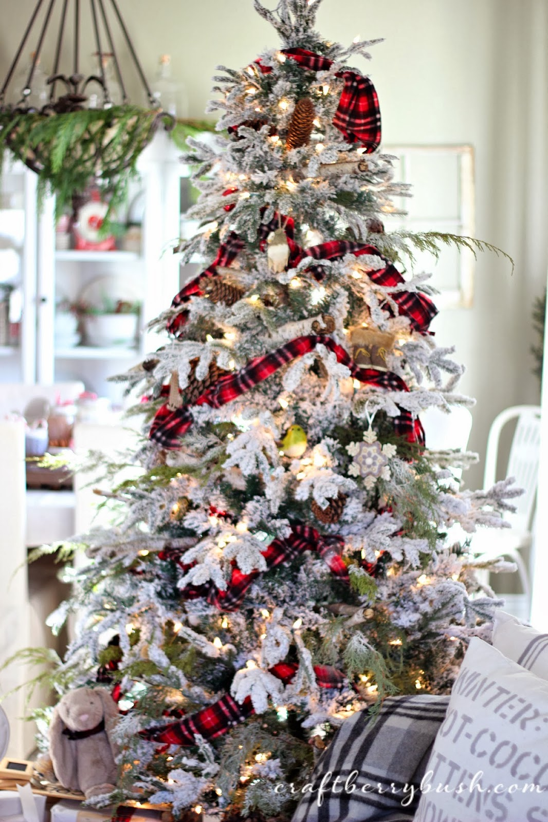 Arboles De Navidad Decorados En Dorado Y Plateado