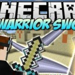 Cyan Warrior Swords Mod 1.5.2