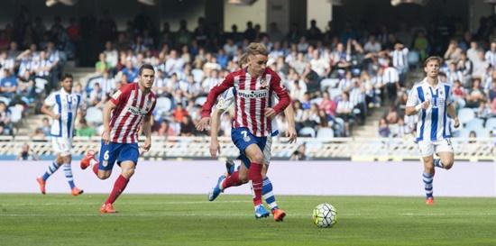 Real Sociedad 0 x 2 Atlético de Madrid - La Liga 2015/16