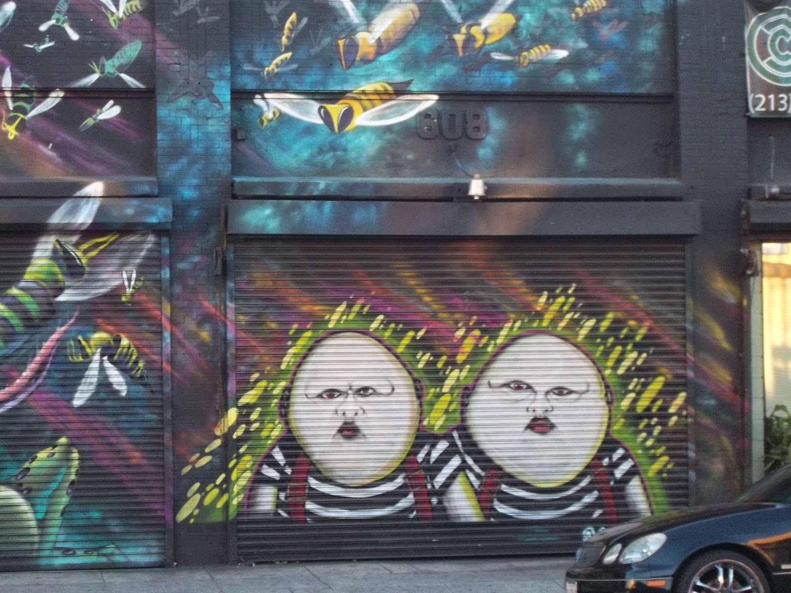 A magical whimsy a trip to downtown los angeles art district tweedledee and tweedledum yup thats how theyre spelled amipublicfo Images