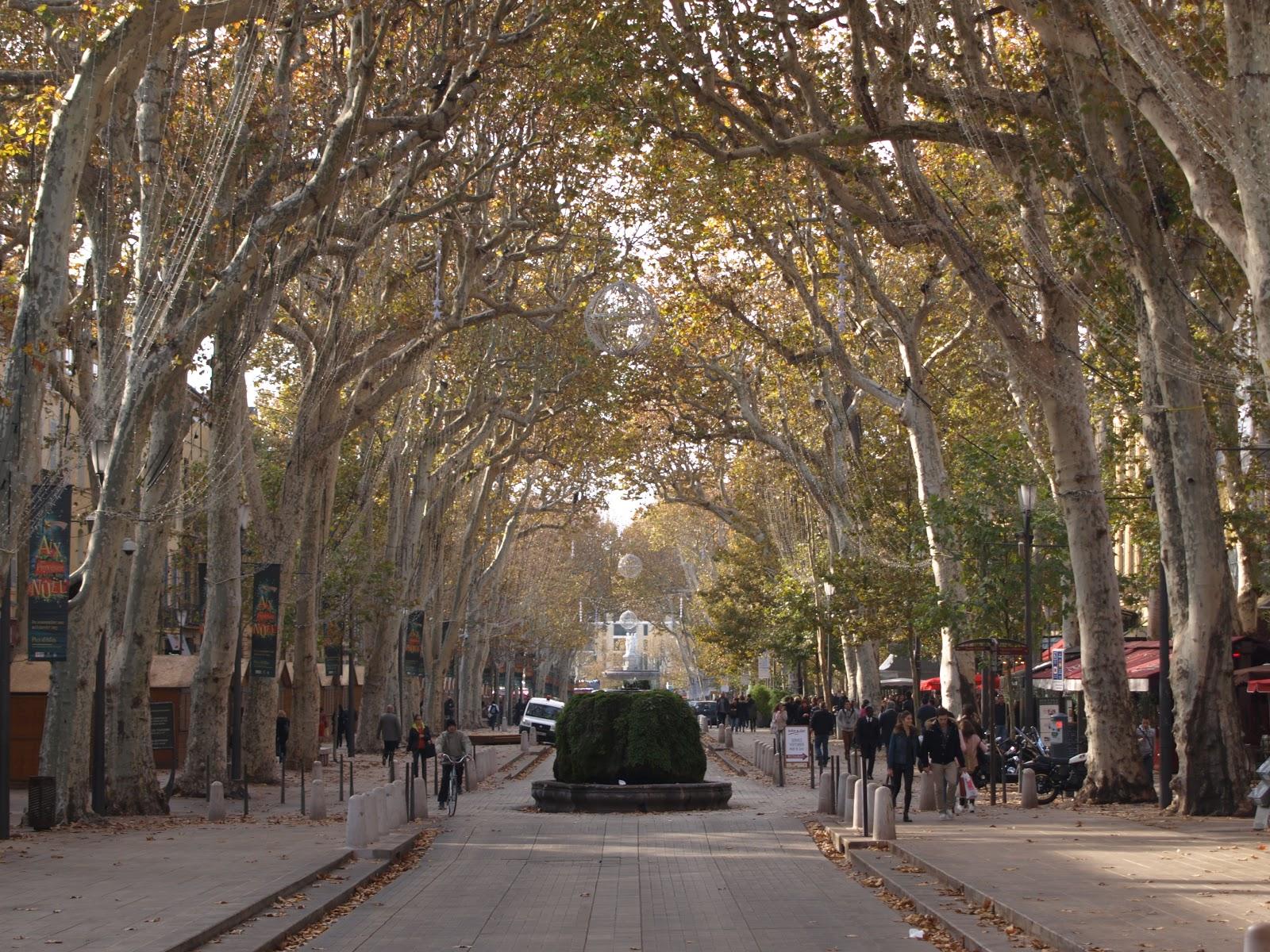 France 2012 cours mirabeau for Aix en provence cours de cuisine