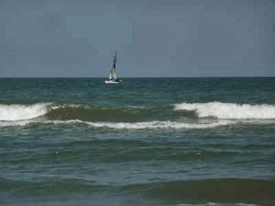 À DAYTONA BEACH, LA MER Y EST TURQUOISE_______________