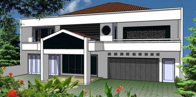 Desain Rumah Mungil Yang Artistik Pt Architectaria