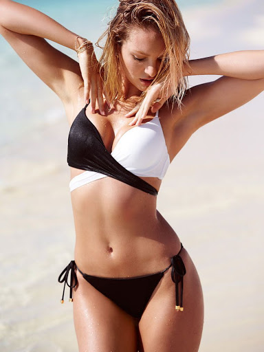 Candice Swanepoel – Victoria's Secret Bikini Model Photoshoot