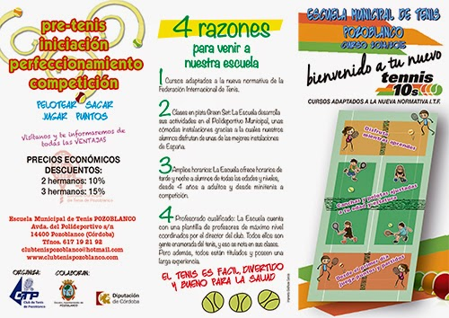 Escuela de Tenis de Pozoblanco