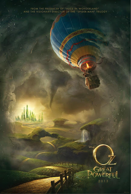 Oz the Great and Powerful Movie 2013 Poster