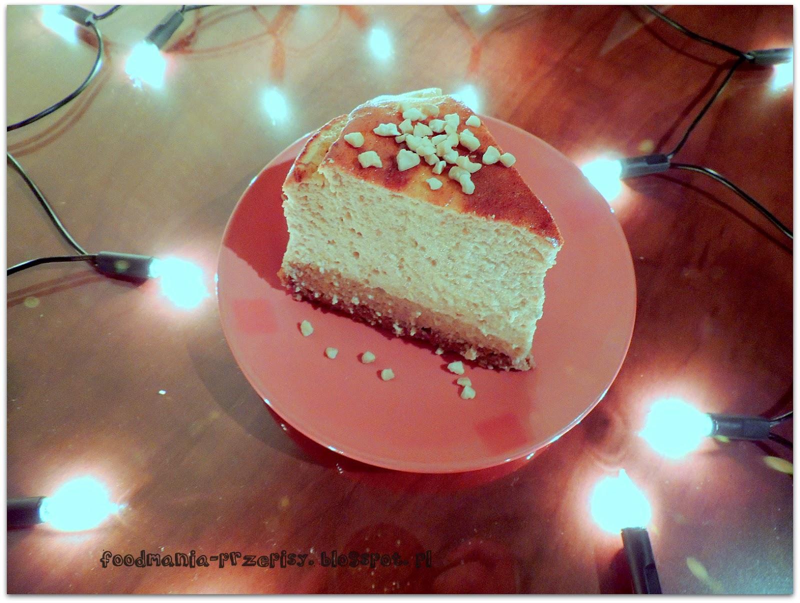 http://foodmania-przepisy.blogspot.com/2014/04/dietetyczny-sernik-bananowy.html