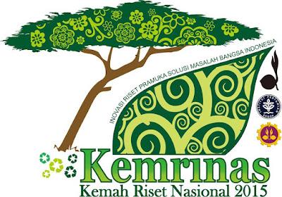 Logo Kemah Riset Nasional 2015