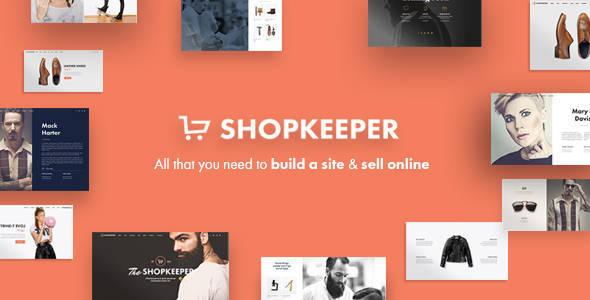 Shopkeeper - Responsive WordPress Theme - eCommerce WooCommerce