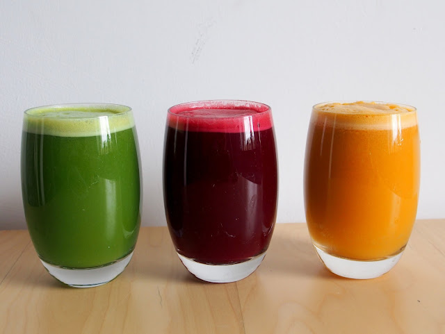 Recipe: My 3 Favourite Healthy Juices!