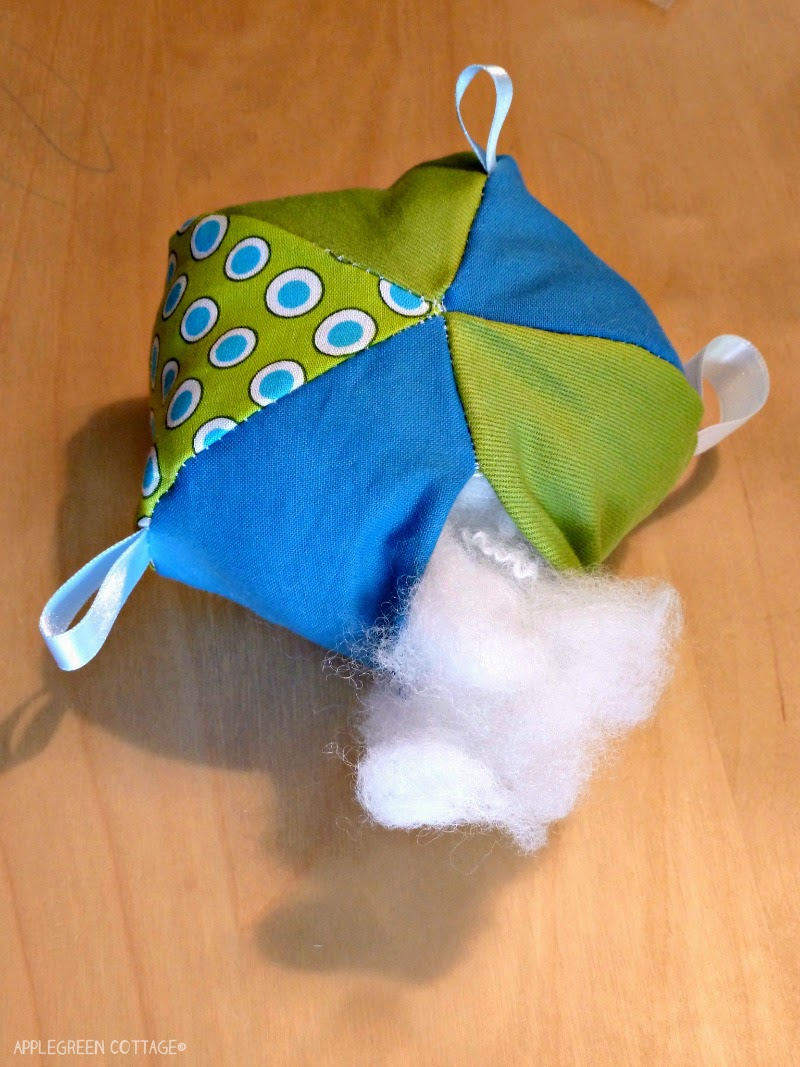 Soft Baby Toys : How to sew a soft ball applegreen cottage