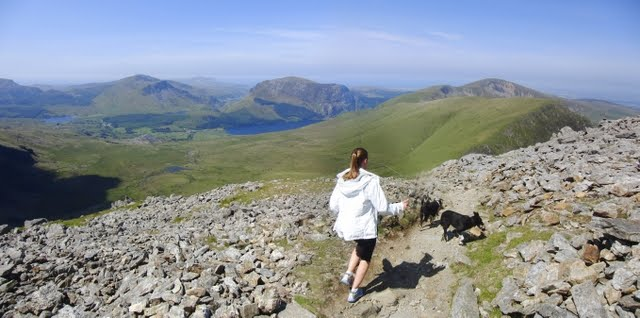 Jackie's Long Snowdon Run