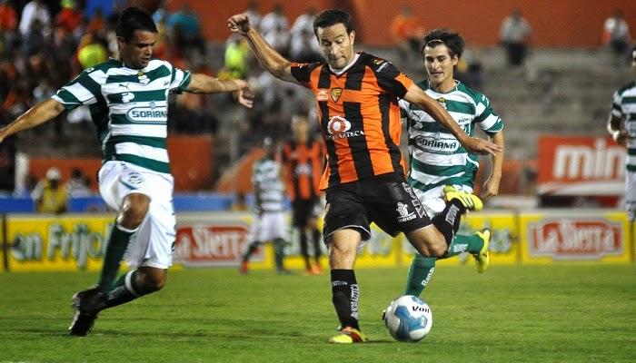 Santos vs Jaguares Chiapas en vivo