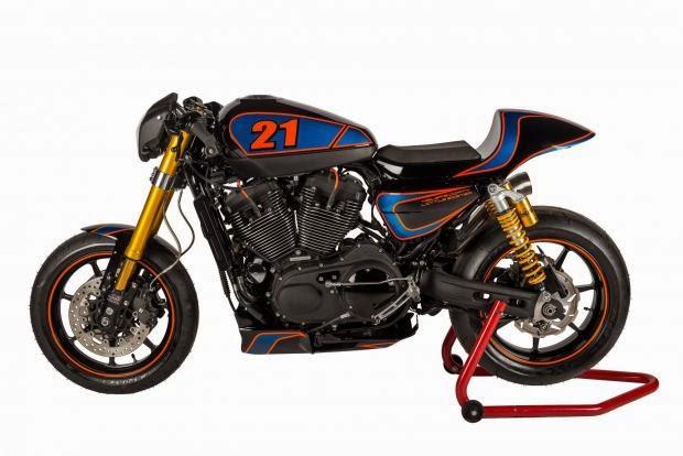 Harley-Davidson Sportster Cafe Racer | XR H-DLS | Harley-Davidson XR1200 Sportster Cafe Racer | Harley Davidson Cafe Racer