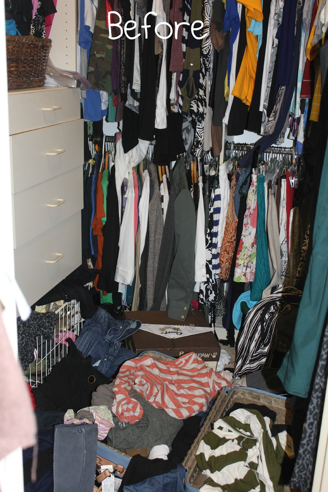 The Picture Below Shows My 2011 Organizational Skills.