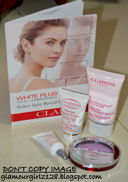 Samples from Clarins