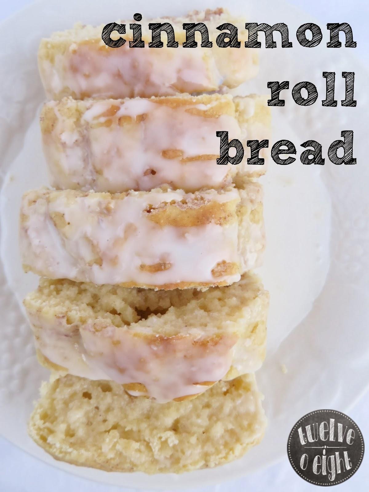 cinnamon roll bread, quick bread, cinnamon roll, homemade bread, bread recipe