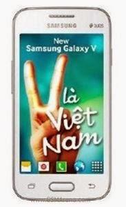 Ponsel Android murah Samsung Galaxy V muncul di situs retail Vietnam