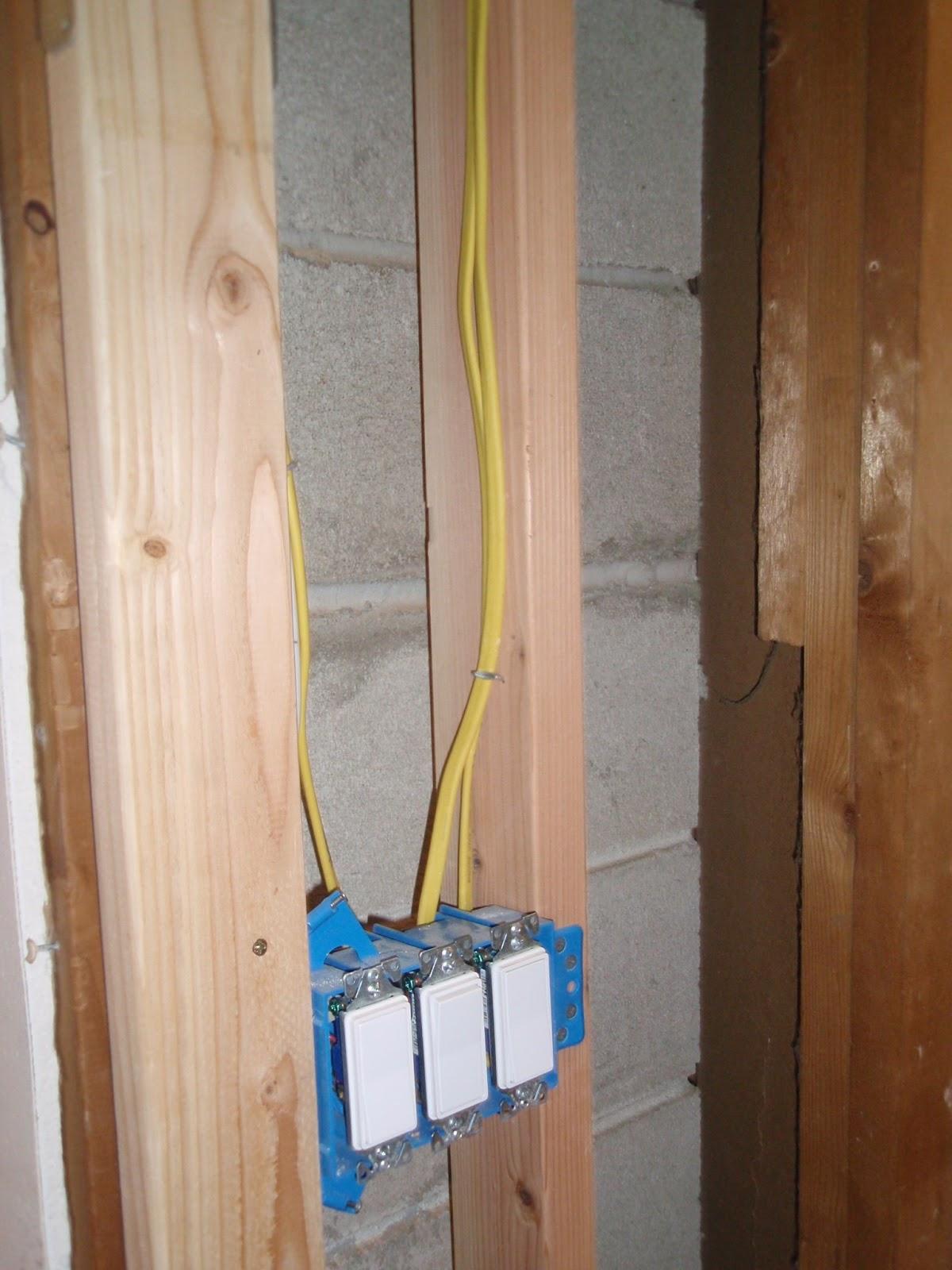 North Castle Way Hallway Lights Switches