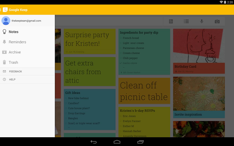 Membuat Catatan Dan Kegiatan Harian Dengan Google Keep