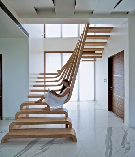 Green Pear Diaries, interiorismo, escaleras