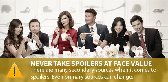 Bones Spoilers