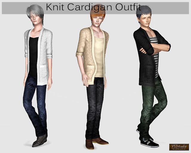 Formal Clothes Sims  Men