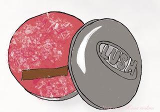 dibujo champú lush