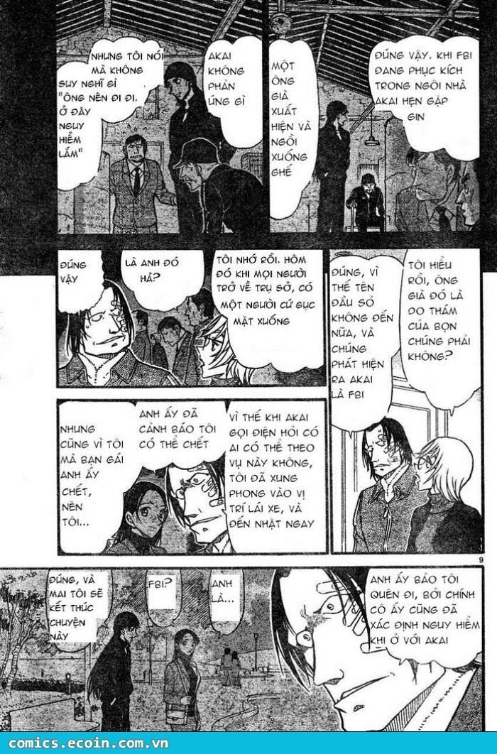 Detective Conan - Thám Tử Lừng Danh Conan chap 607 page 9 - IZTruyenTranh.com