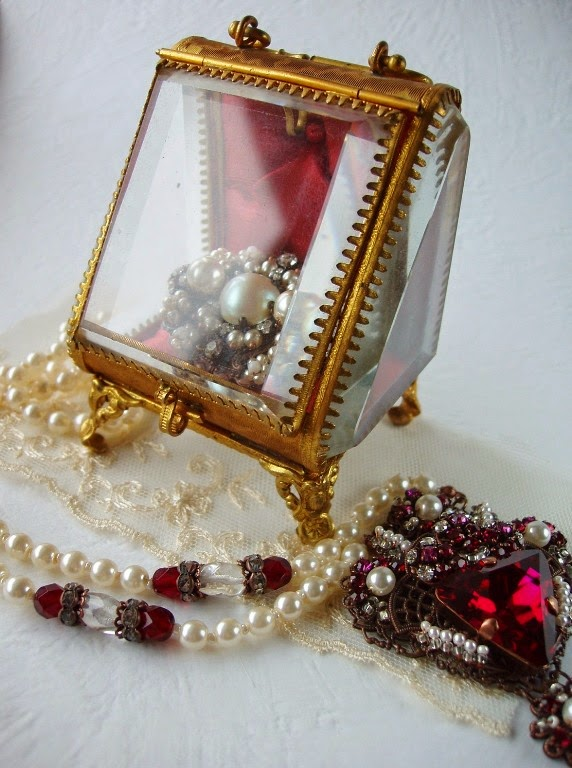 trinket box jewelry casket bijoux coffret