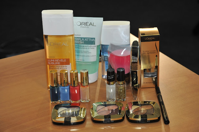L'Oréal Paris Light CC Cream, Lo Sfumato, BB Blush, Top Coat, mascara Ciglia Finte Farfalla