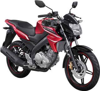 New Yamaha Vixion Merah 2013