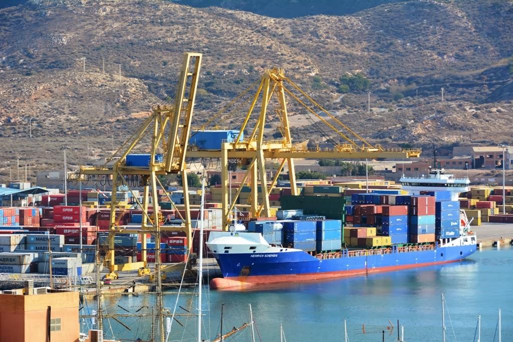 Cartagena port cargo