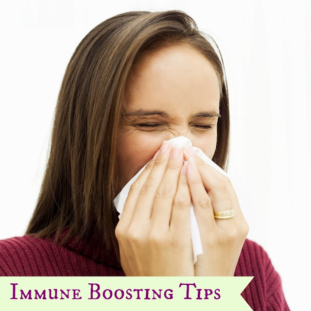 Immune boosting tips for cold and flu season