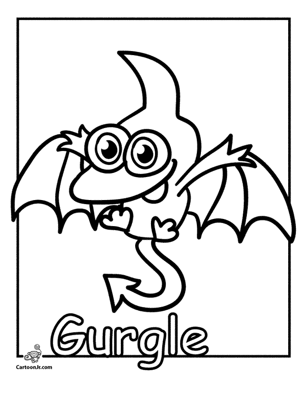 Pretty Baby Moshi Monsters Coloring Pages Contemporary - Wordpress ...