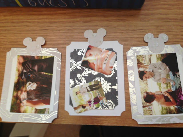 Amanda's DIY Wedding Scrapbook Guestbook