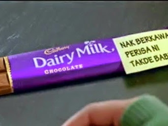 Tinta Papaglamz |#| Coklat Cadbury HALAL