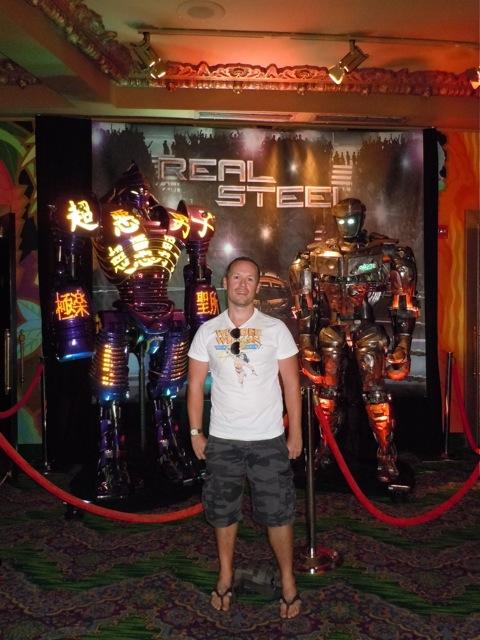 Jason and Real Steel animatronic robots