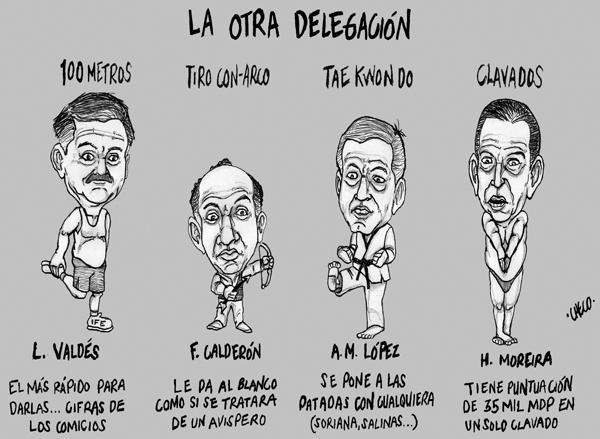 El Mundo HOY: caricaturas Agosto