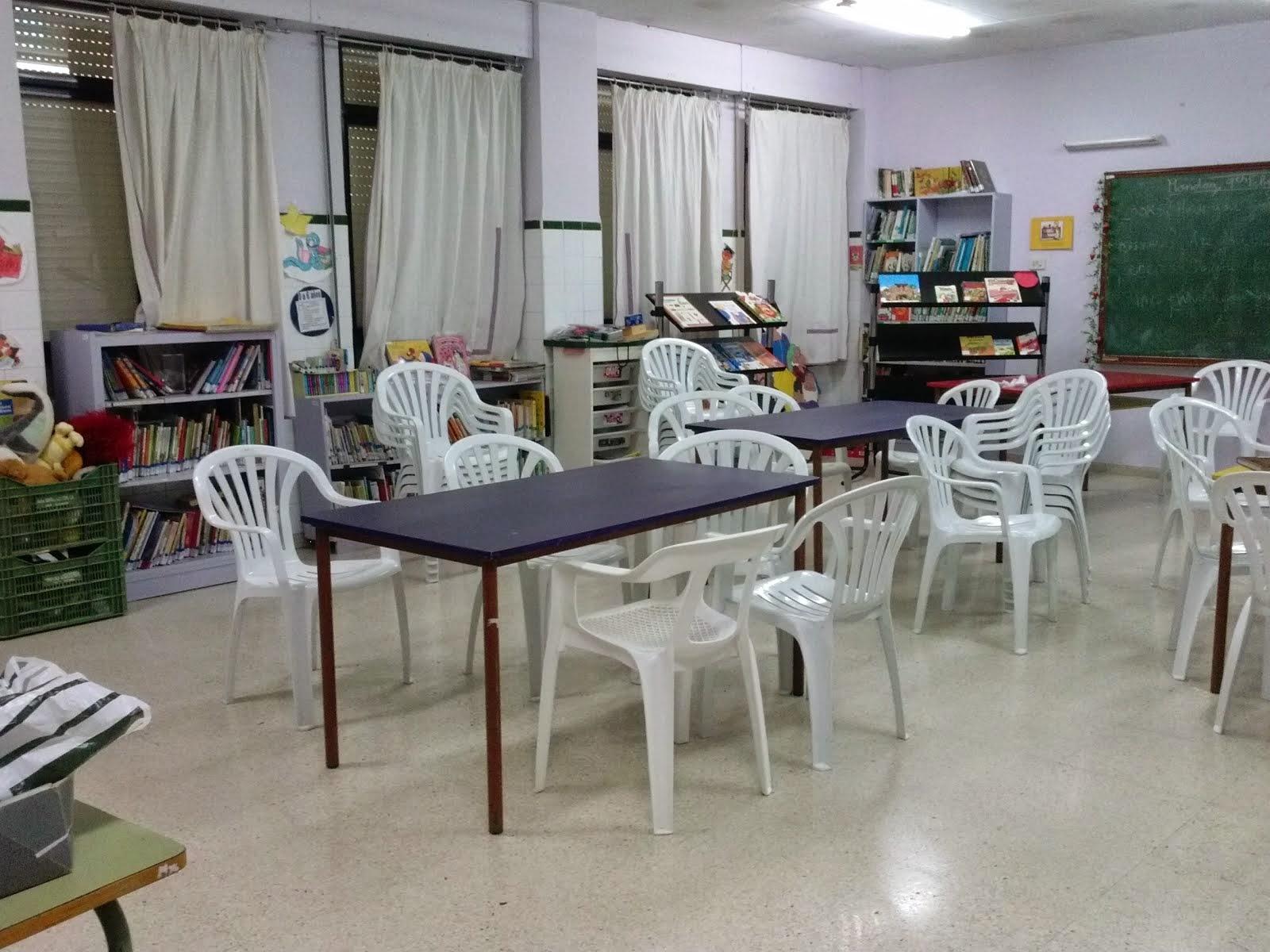 La biblioteca del colegio Vicente Ros