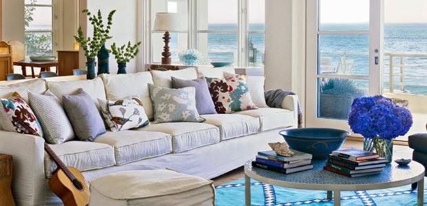 Id es pour une maison de vacances exceptionnelle for Decoration maison vacances mer