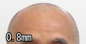 バリカン 0.8ミリ