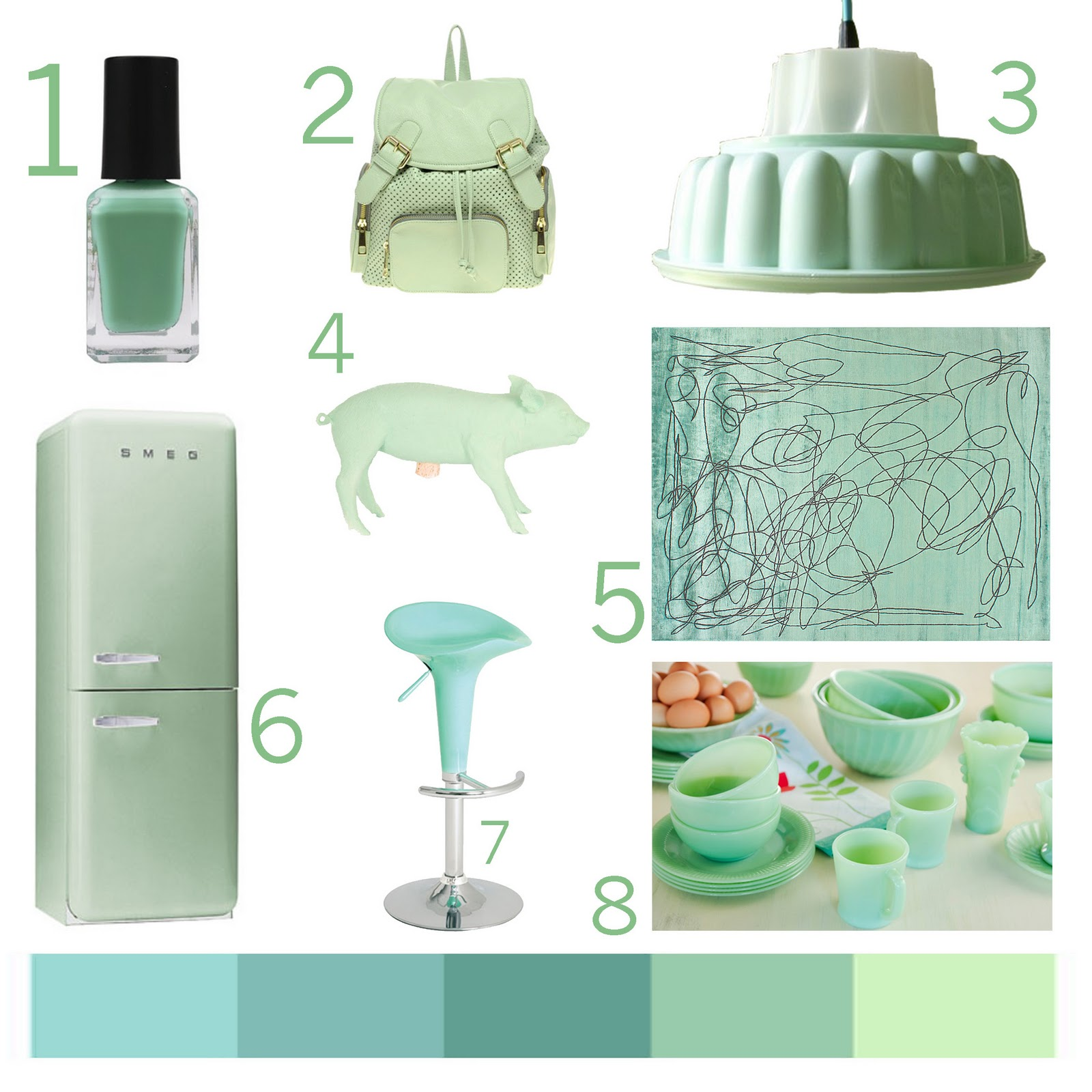 Pairstudio Very light mint green paint