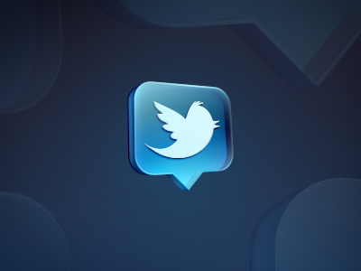 Awesome Twitter Logos and Icon Designs