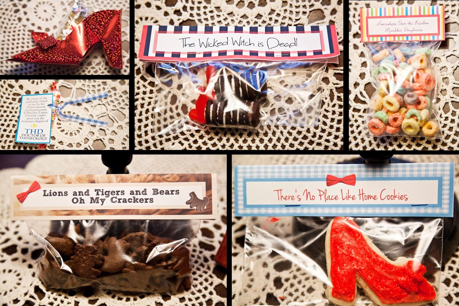 Ruffles & Rubies: Wizard of Oz Themed Treats