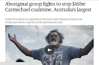 Aboriginals fight $16 billion coalmine in Australia