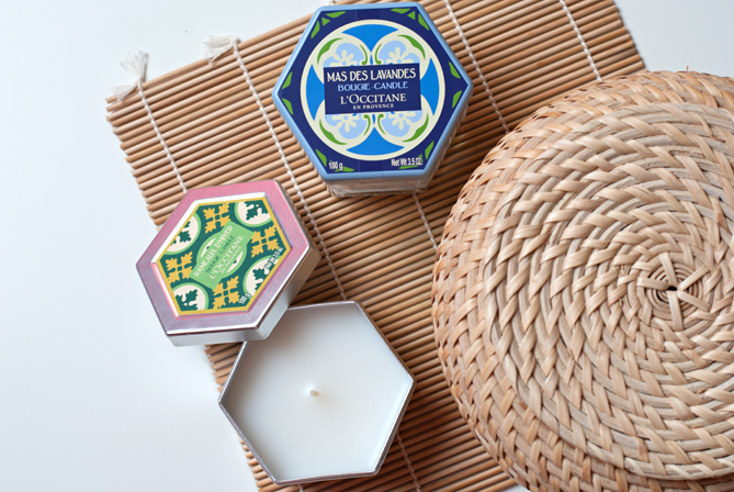 l'occitane home collection candles