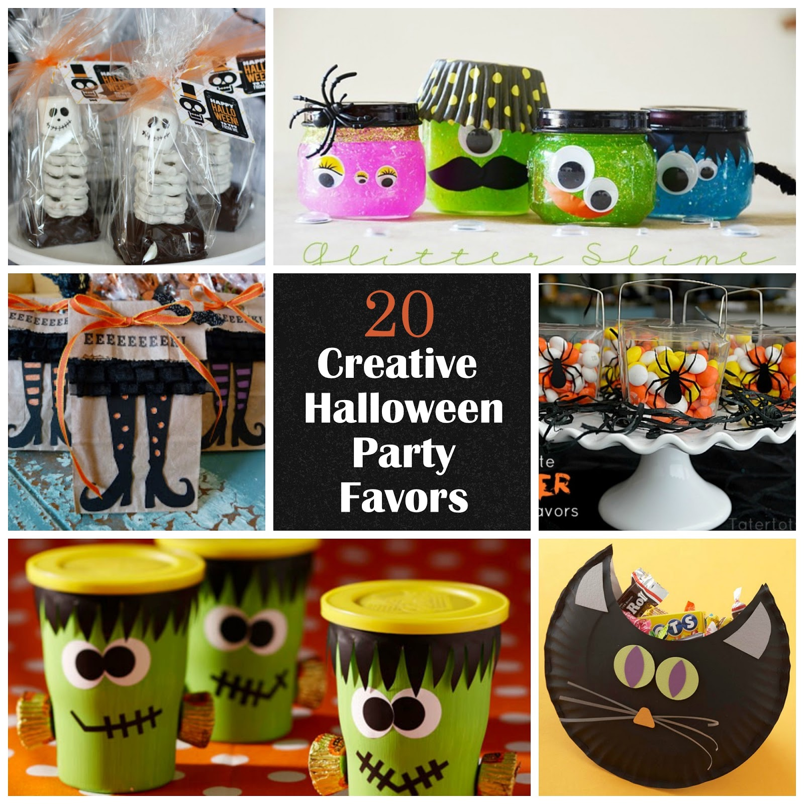 20 creative halloween party favors i dig pinterest for Halloween party favor ideas
