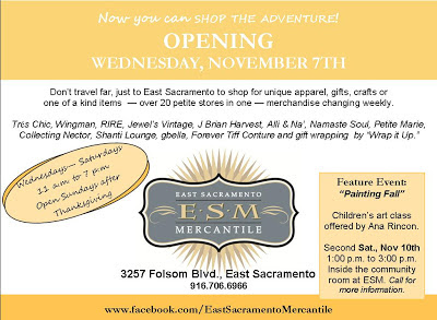 GRAND OPENING: East Sac Mercantile